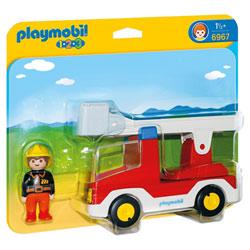 6967 - Camion de Pompiers avec échelle - Playmobil 1.2.3