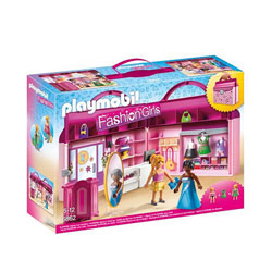 6862-Magasin transportable - Playmobil Fashion girl