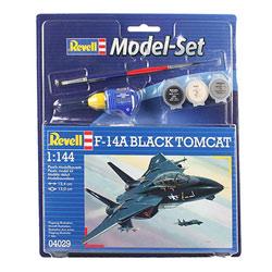 Maquette avion F14-A Black Tomcat 1/144 ème