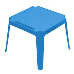 Table carrée enfant Bleue Foncée