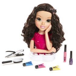 Tête à coiffer Moxie girl : Magic hair Brun
