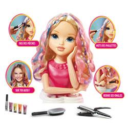 Tête à coiffer Moxie girl : Magic hair Blonde