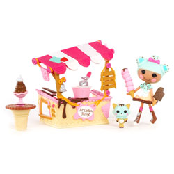 Mini Lalaloopsy et Mobilier - Scoops Serves Ice Cream
