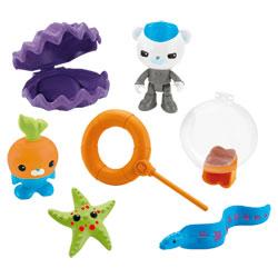 Figurines et accessoires Octonauts Barnacles et Tunip