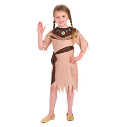 Costume fille 5/7 ans Indienne