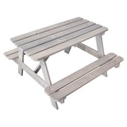 Table pique-nique Bois Taupe