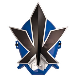 Masque Power Rangers Bleu