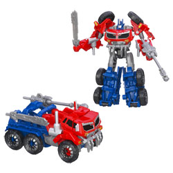 Transformers Prime Commander Beast Hunter Optimus Prime