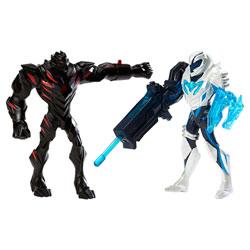 Max Steel Pack de combat Claw Dredd vs Blaster Max