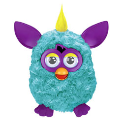 Furby Turquoise Violet