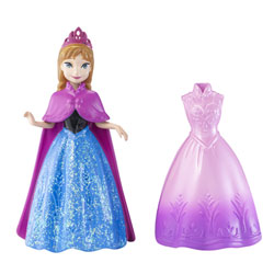 Princesse et robe magiclip Disney Princesses Anna