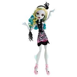 Monster High Hauntlywood Tapis noir Lagoona Blue