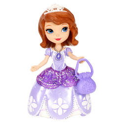Mini Princesse Disney Sofia Robe Violette