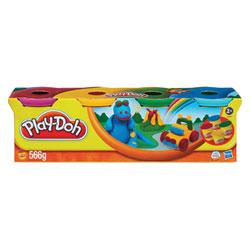 Pâte à modeler 4 pots couleur Secondaire de Play-Doh