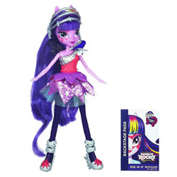 My Little Pony Equestria Girls Twilight Sparkle Rainbow Rocks