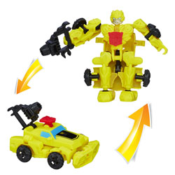 Figurine Transformers 4 Construct Bots Riders Bumblebee