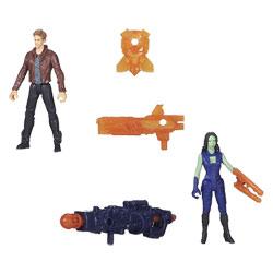 Les Gardiens de la Galaxie Epic Battlers Star Lord et Gamora