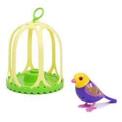 Digibird Livia dans sa cage