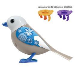 Digibird Snowflake sur sa bague