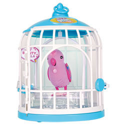 Little Live Pets cage à oiseaux avec Beauty Bella