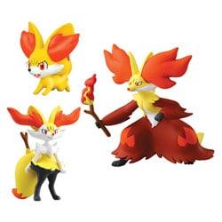 Pokemon XY Feunnec, Roussil et Goupelin