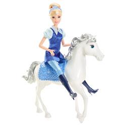 Princesse Disney Cendrillon et son Cheval Magique