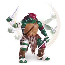 Tortues Ninja Movie Figurine Deluxe à Fonction Raphael