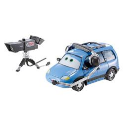 Méga Véhicule Cars2 Chuck le Caméraman