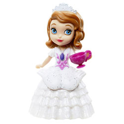 Mini Princesse Disney Sofia Robe Blanche