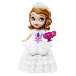 Mini Princesse Disney Sofia Robe Blanche