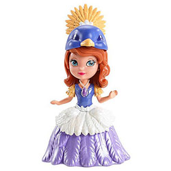 Mini Princesse Disney Sofia costume oiseau