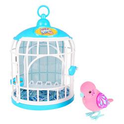 Little Live Pets cage avec oiseaux Rose