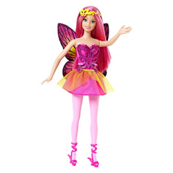 Barbie fée Cheveux Rose