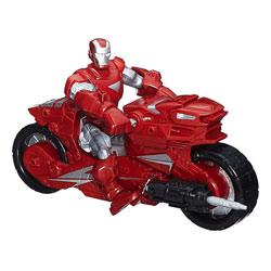 Figurine Iron Man et son véhicule - Avengers