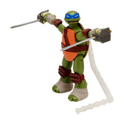 Tortue Ninja Attaque figurine 14 cm Leonardo