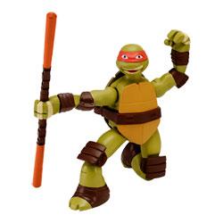 Tortue Ninja Attaque figurine 14 cm Michelangelo