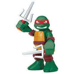 Figurine Tortue Ninja Raphael articulée 15 cm avec sons