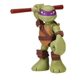 Figurine Tortue Ninja Donatello articulée 15 cm avec sons