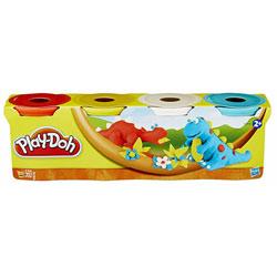 Pâte à modeler 4 pots couleur Dino de Play-Doh