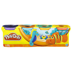 Pâte à modeler 4 pots couleur Poisson de Play-Doh
