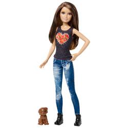 Sœur de Barbie Skipper et son Petit Chien