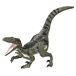 Jurassic World Dinos Rugisseurs Velociraptor Blue