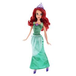 Poupée Paillettes Disney Princesses Ariel