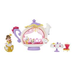 Mini poupée Belle et sa théière - Disney Princesses