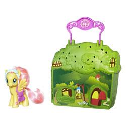 Mallette Playset My Little Pony - Le cottage de Fluttershy