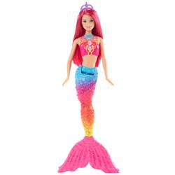 Barbie sirène multicolore - Arc en ciel