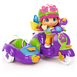 Pinypon Scooter avec Side-car