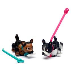 Pet Parade 2 chiens Berger allemand et Bouledogue