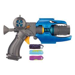 Pistolet Deluxe Slugterra bleu avec 3 slugs