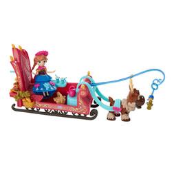 Univers Mini-poupée Reine des Neiges - La balade d'Anna en traineau